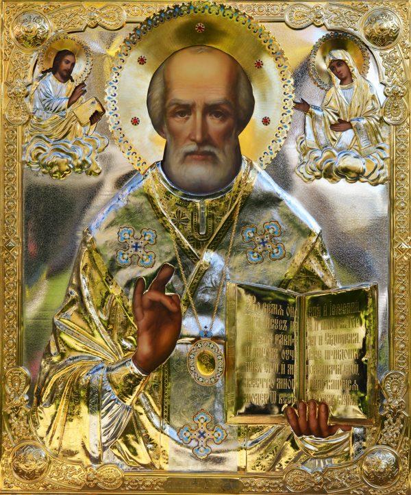 Αποτέλεσμα εικόνας για αγιος νικολαος μοσχας εικονα